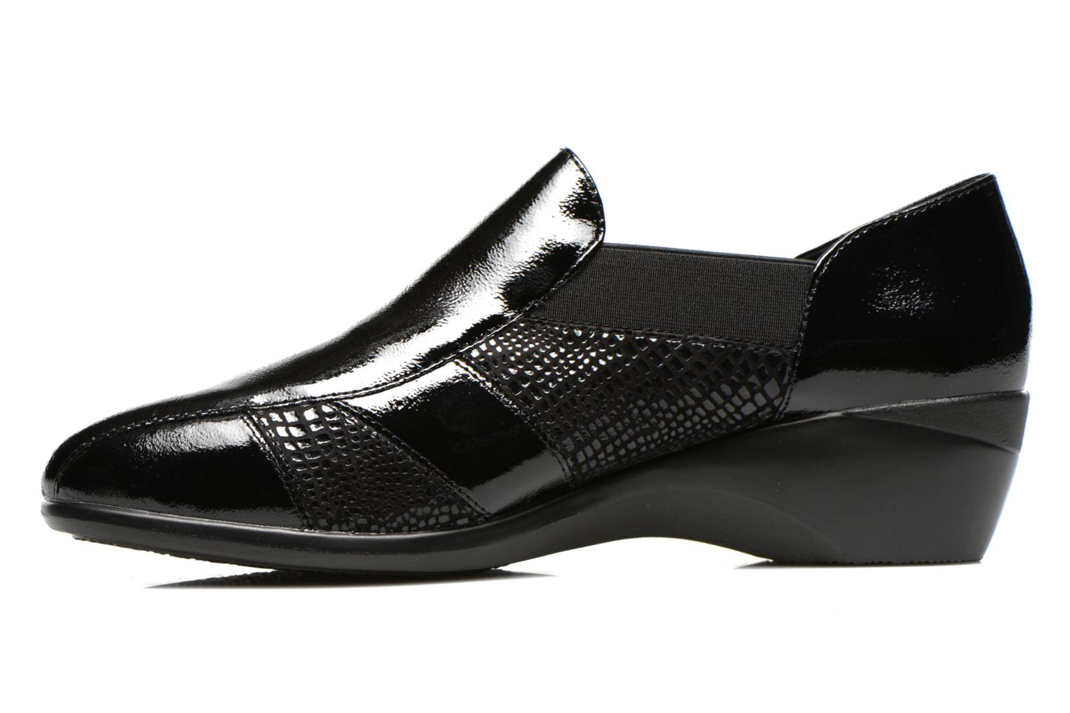 Loafers Stonefly Licia 23 Black front view