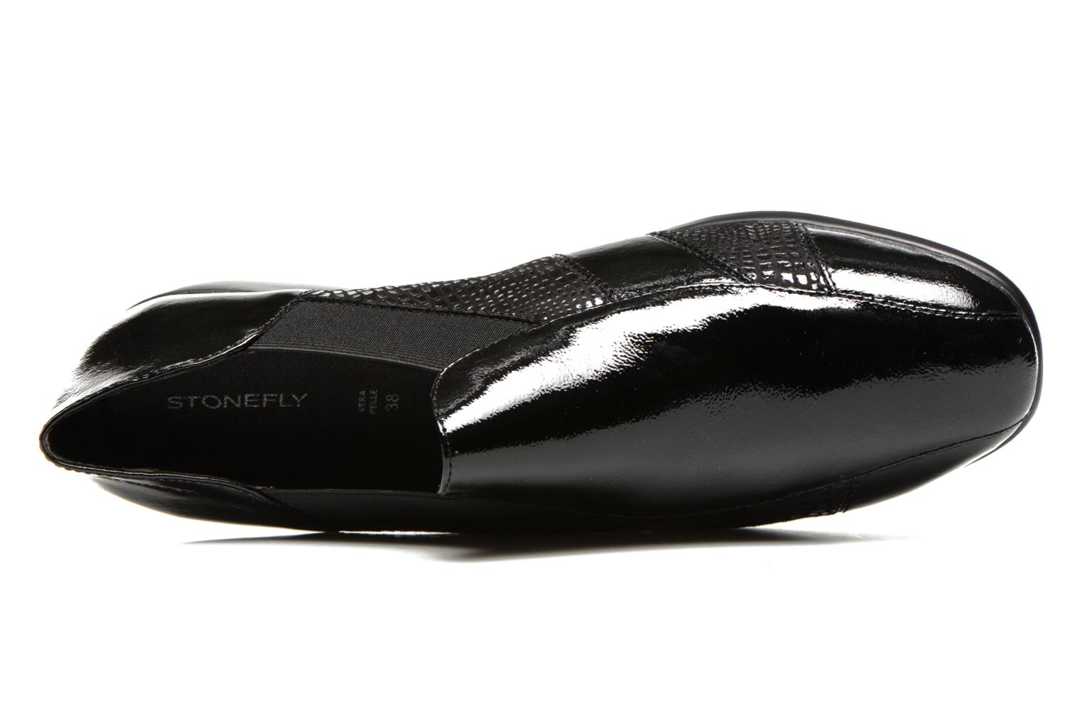 Mocassins Stonefly Licia 23 Zwart links