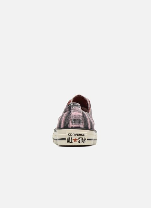 Trainers Converse Chuck Taylor All Star Missoni Ox W Pink view from the right