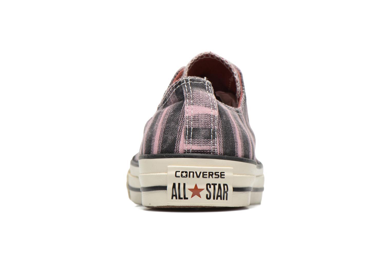 Sneaker Converse Chuck Taylor All Star Missoni Ox W rosa ansicht von rechts