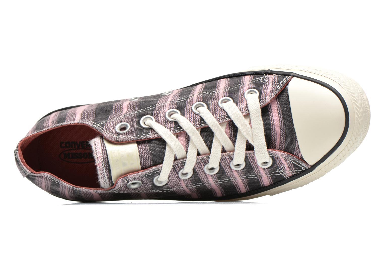 Sneaker Converse Chuck Taylor All Star Missoni Ox W rosa ansicht von links