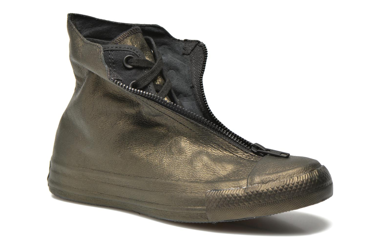 Trainers Converse Chuck Taylor All Star Shroud Hi W Bronze and Gold 3/4 view