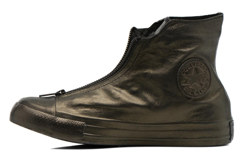 Sneakers Converse Chuck Taylor All Star Shroud Hi W Guld og bronze se forfra