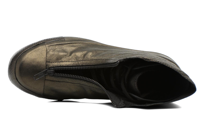 Sneakers Converse Chuck Taylor All Star Shroud Hi W Guld og bronze se fra venstre