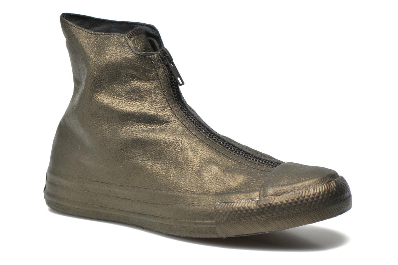 Sneakers Converse Chuck Taylor All Star Shroud Hi W Guld og bronze detaljeret billede af skoene