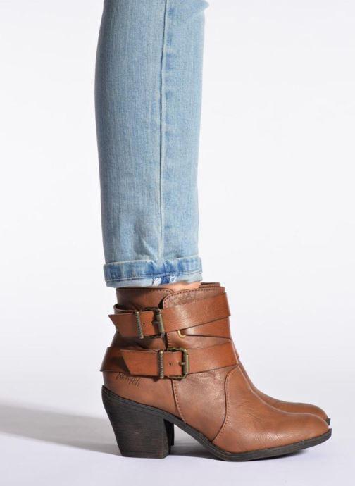 Bottines et boots Blowfish Sworn Noir vue bas / vue portée sac