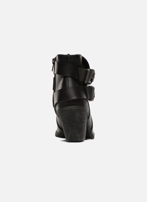 Bottines et boots Blowfish Sworn Noir vue droite