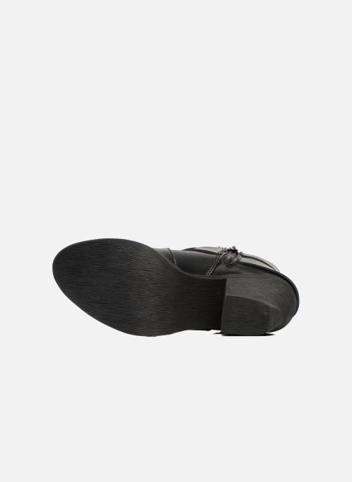 Bottines et boots Blowfish Sworn Noir vue haut
