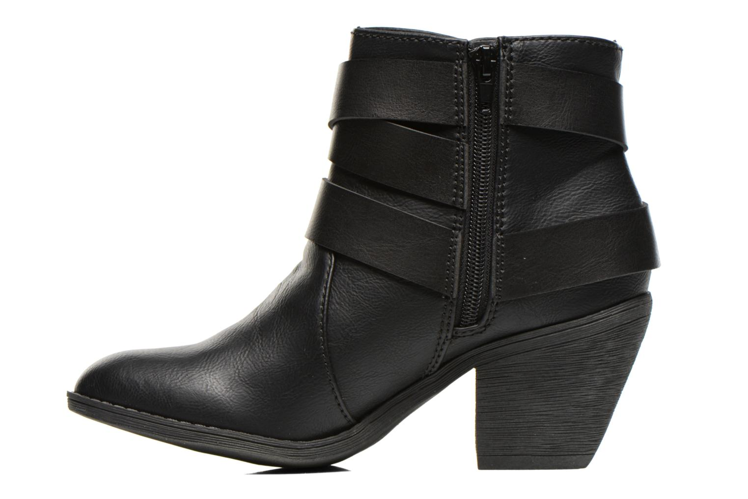 Bottines et boots Blowfish Sworn Noir vue face