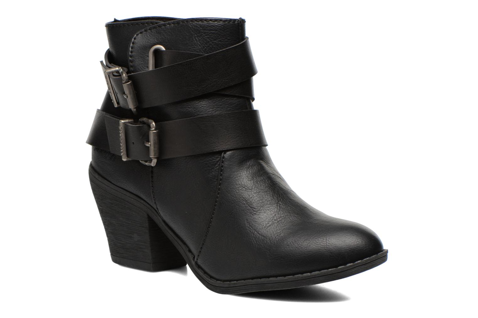 Bottines et boots Blowfish Sworn Noir vue détail/paire