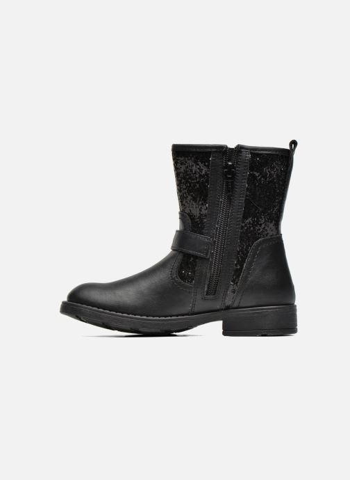 Bottines et boots Geox J Sofia K J54D3K Noir vue face