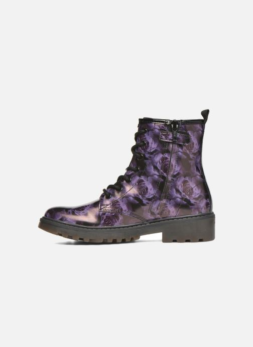 Ankle boots Geox J Casey G. K J5420K Purple front view