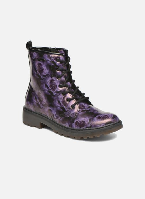 Ankle boots Geox J Casey G. K J5420K Purple detailed view/ Pair view