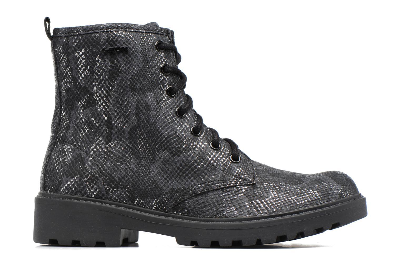 Stiefeletten & Boots Geox J Casey G. K J5420K schwarz ansicht von hinten