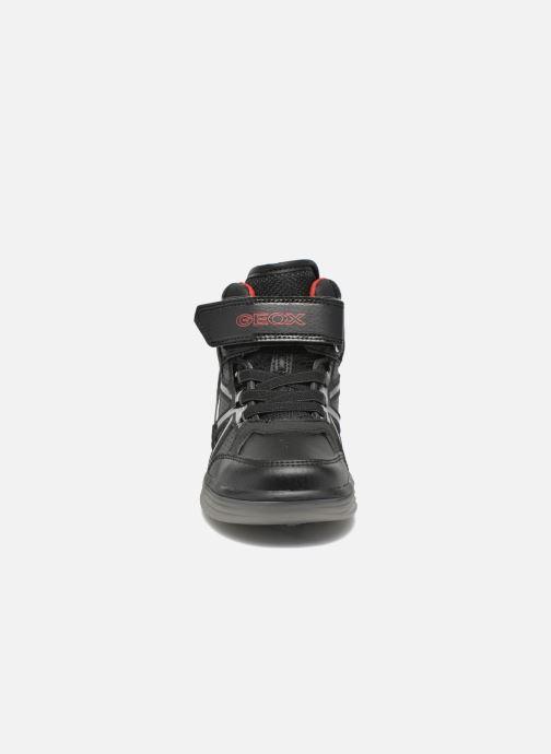 Baskets Geox J Argonat B. C J5429C Noir vue portées chaussures