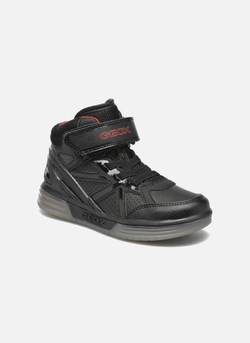Baskets Geox J Argonat B. C J5429C Noir vue détail/paire