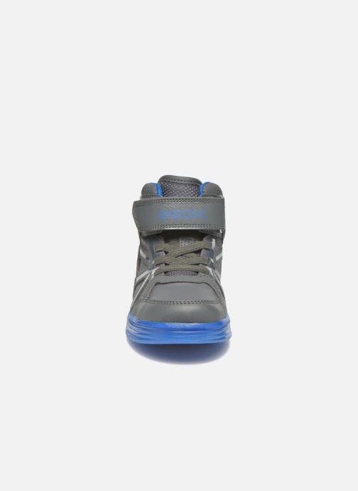 Baskets Geox J Argonat B. C J5429C Gris vue portées chaussures