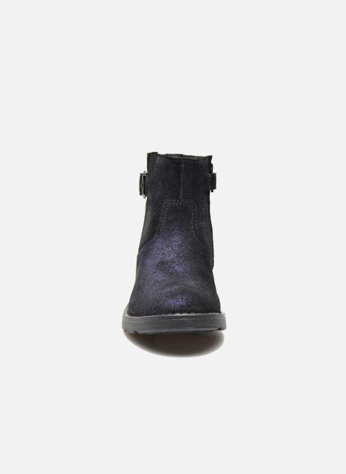 Bottines et boots Geox J Sofia A J54D3A Bleu vue portées chaussures
