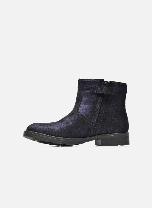 Bottines et boots Geox J Sofia A J54D3A Bleu vue face