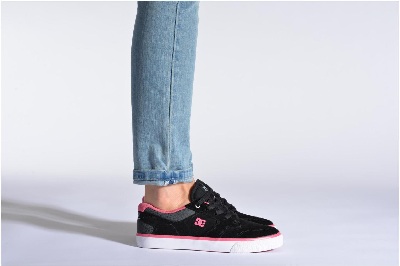 Deportivas DC Shoes Nyjah Vulc SE W Negro vista de abajo