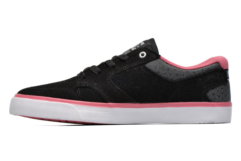 Deportivas DC Shoes Nyjah Vulc SE W Negro vista de frente