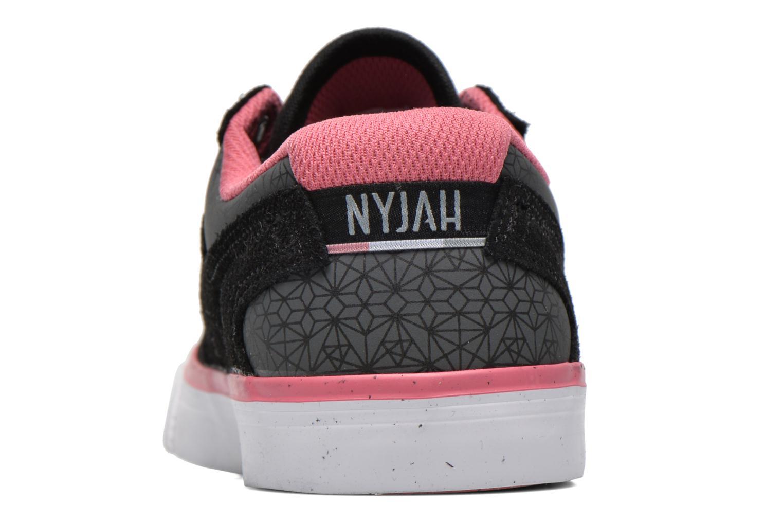 Deportivas DC Shoes Nyjah Vulc SE W Negro vista lateral derecha