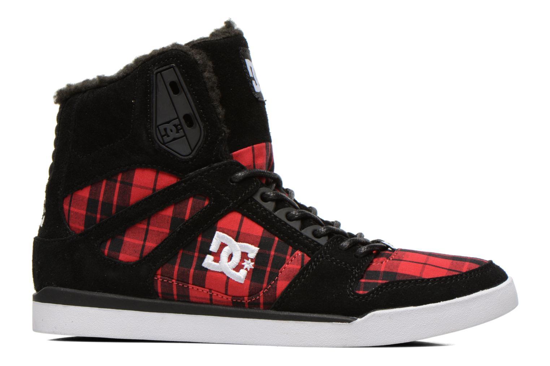 Baskets DC Shoes Rebound Slim High WNT Noir vue derrière