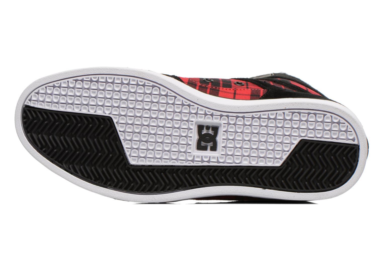 Baskets DC Shoes Rebound Slim High WNT Noir vue haut