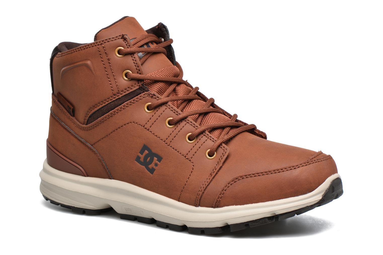 Baskets DC Shoes Torstein Marron vue détail/paire