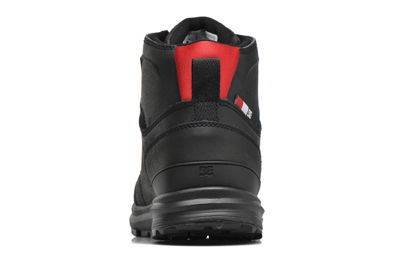 Deportivas DC Shoes Torstein Negro vista lateral derecha