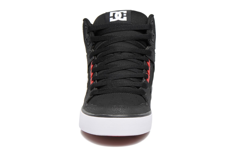 Baskets DC Shoes Spartan High WC Noir vue portées chaussures