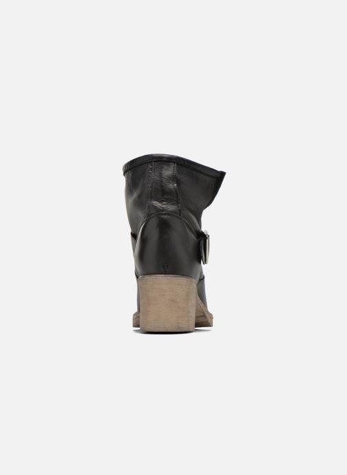 Bottines et boots Georgia Rose Malix Noir vue droite