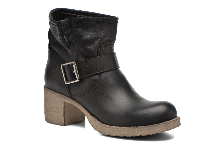 Bottines et boots Georgia Rose Malix Noir vue détail/paire