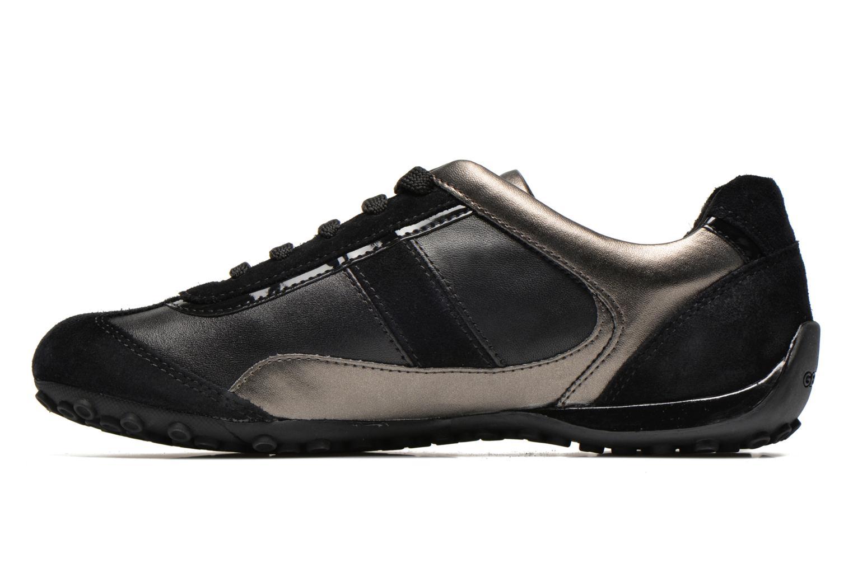 Sneakers Geox D SNAKE B D5412B Nero immagine frontale