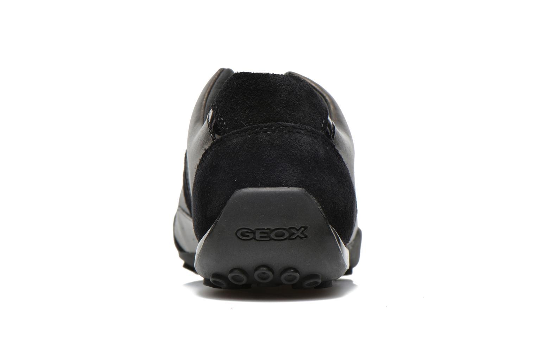 Baskets Geox D SNAKE B D5412B Noir vue droite