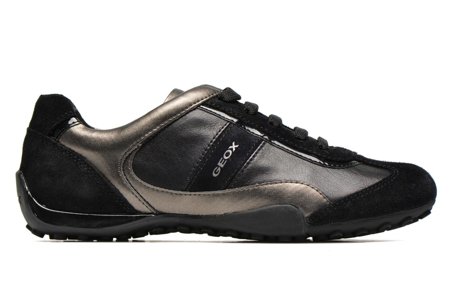 Sneakers Geox D SNAKE B D5412B Nero immagine posteriore