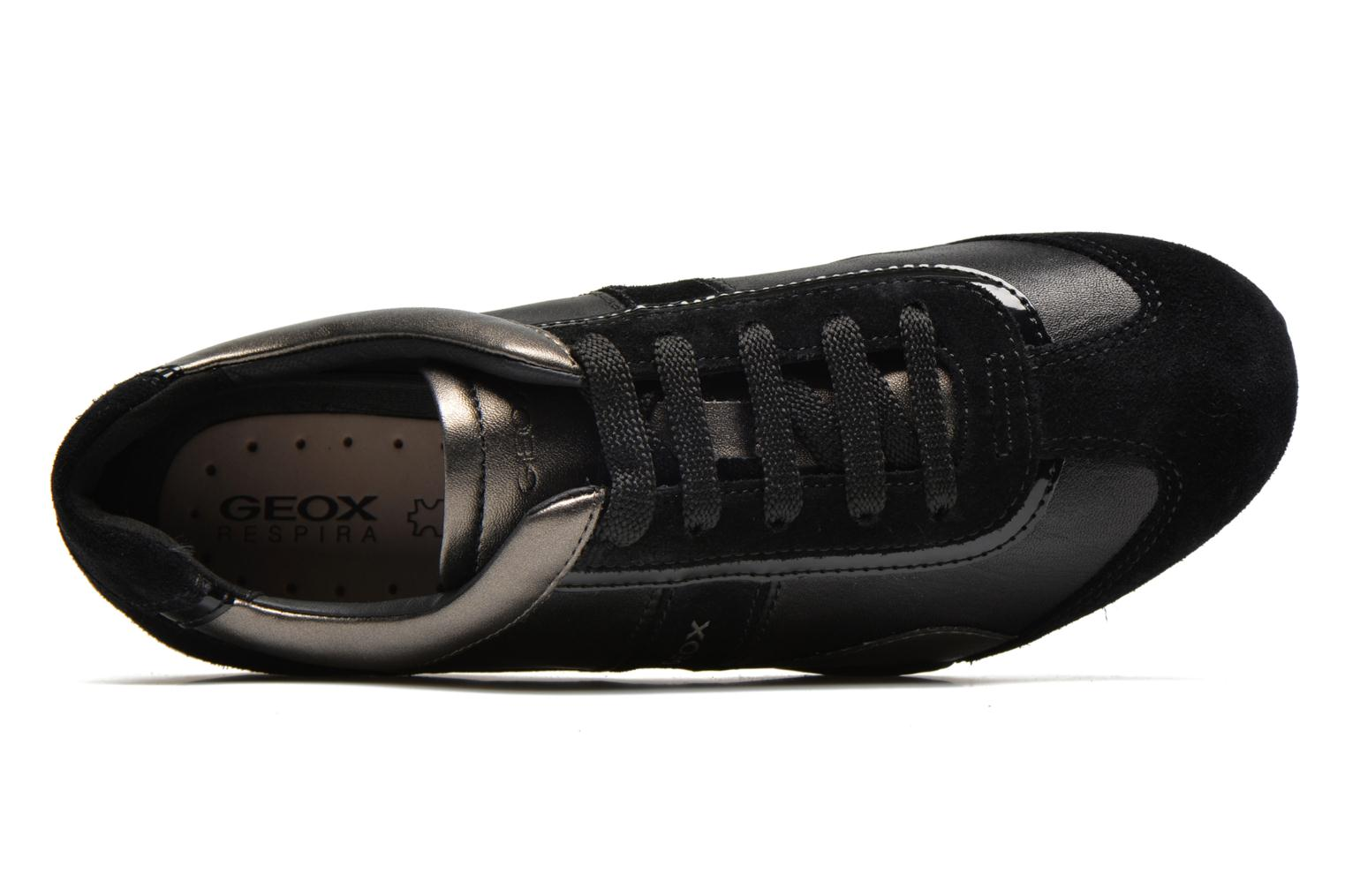 Sneakers Geox D SNAKE B D5412B Nero immagine sinistra