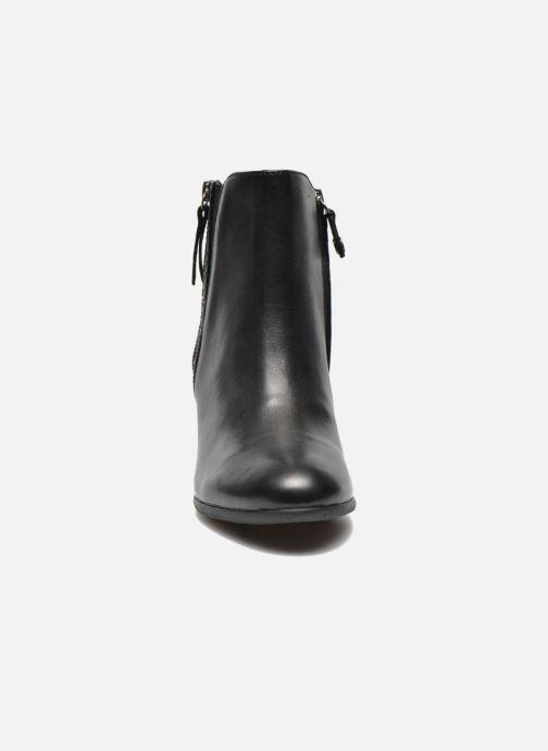 Bottines et boots Geox D LUCINDA B D5470B Noir vue portées chaussures