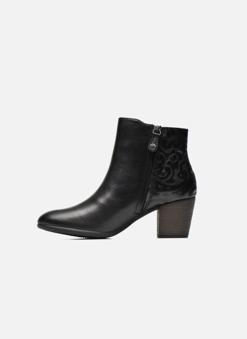 Bottines et boots Geox D LUCINDA B D5470B Noir vue face