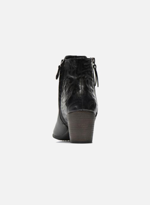 Bottines et boots Geox D LUCINDA B D5470B Noir vue droite