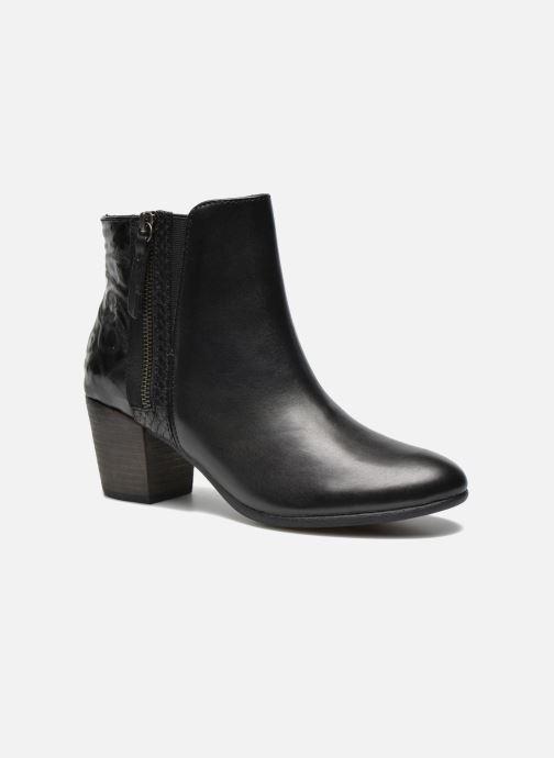 Bottines et boots Geox D LUCINDA B D5470B Noir vue détail/paire