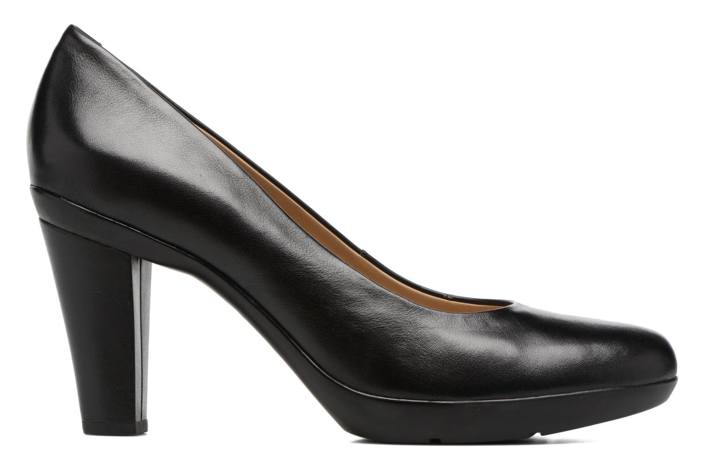 High heels Geox D INSPIRATION C D54R4C Black back view