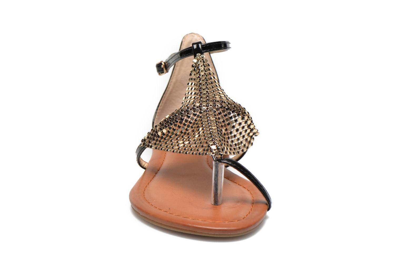 Sandales et nu-pieds La Strada Joly Noir vue portées chaussures