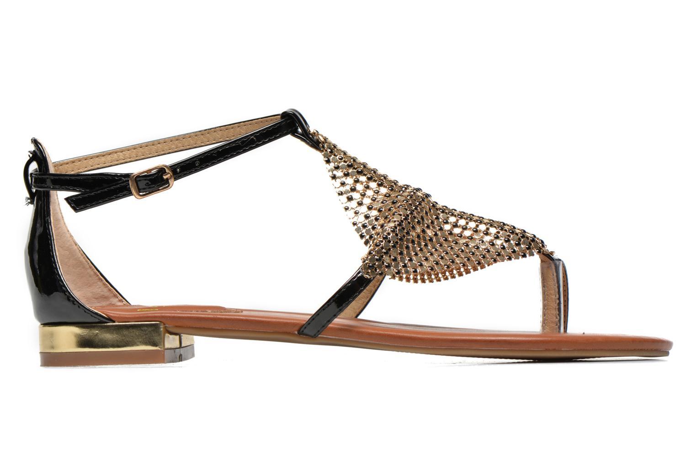 Sandales et nu-pieds La Strada Joly Noir vue derrière