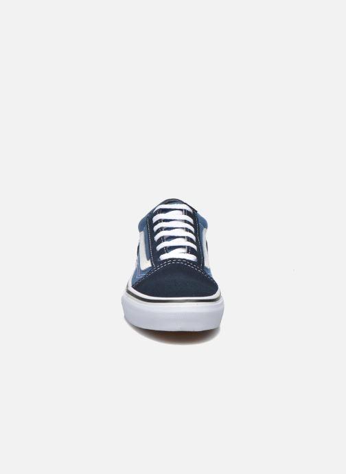 Baskets Vans Old Skool E Bleu vue portées chaussures
