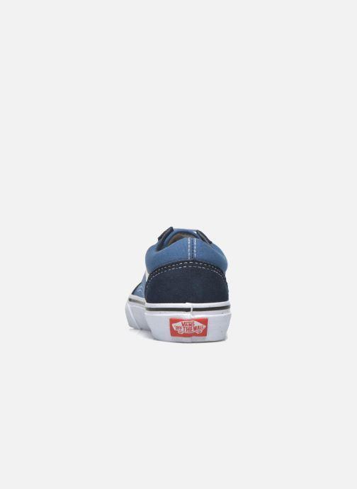 Baskets Vans Old Skool E Bleu vue droite