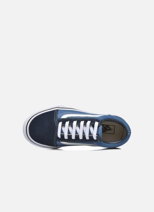 Baskets Vans Old Skool E Bleu vue gauche