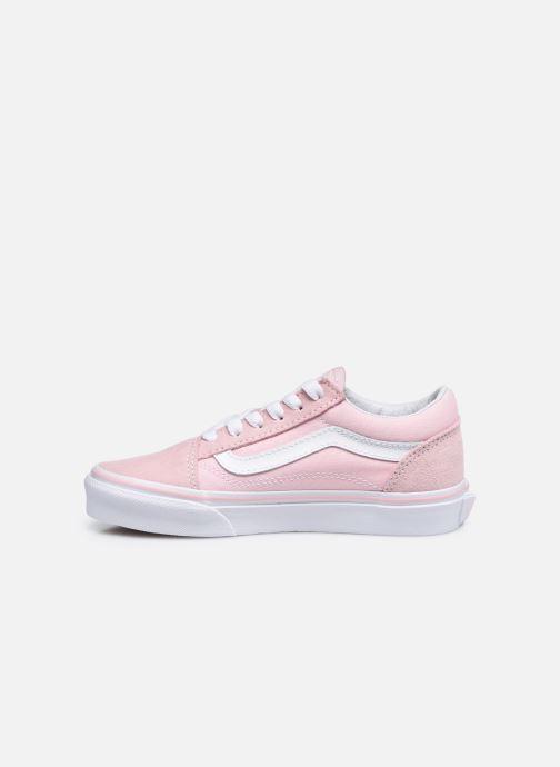 Sneakers Vans Old Skool E Roze voorkant