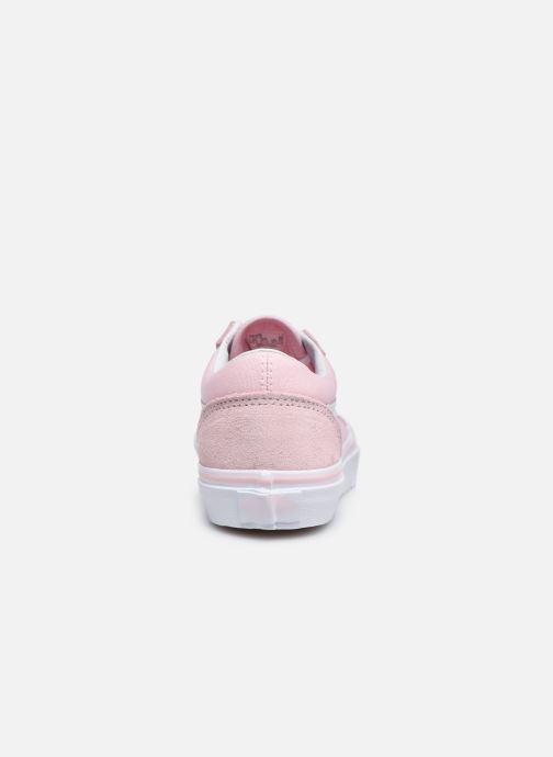 Sneakers Vans Old Skool E Rosa immagine destra