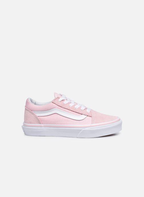 Sneakers Vans Old Skool E Roze achterkant